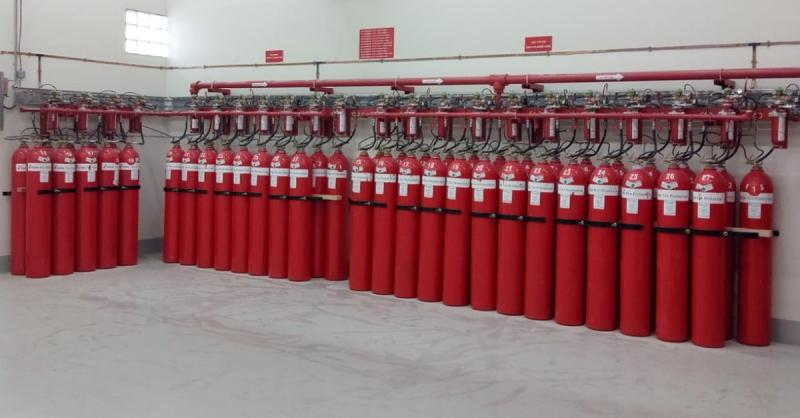 CO2 Extinguishing System