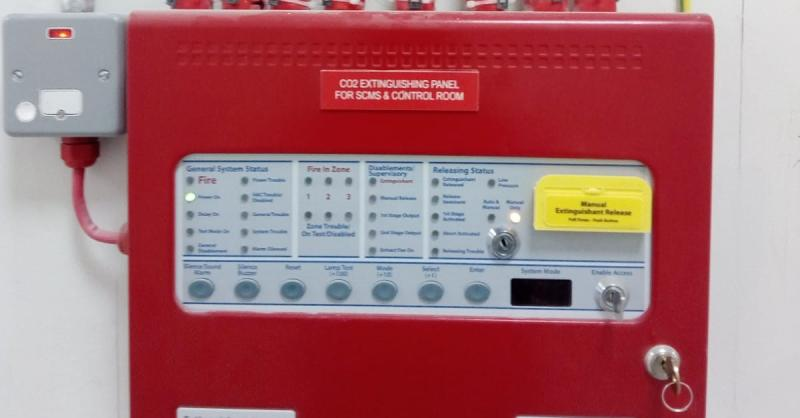 Kentec Extinguishing Control Panel