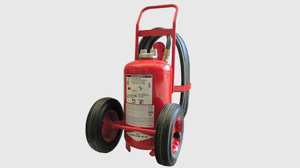 Amerex Wheeled Extinguisher