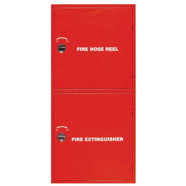 Double Compartment Fire Hose cabinet